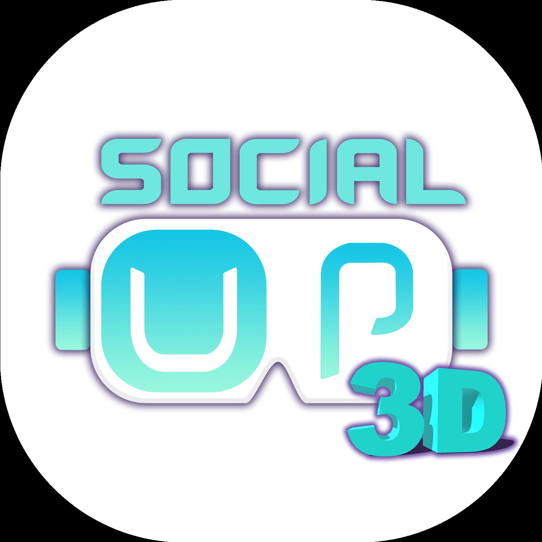 Logo SocialUP3D png